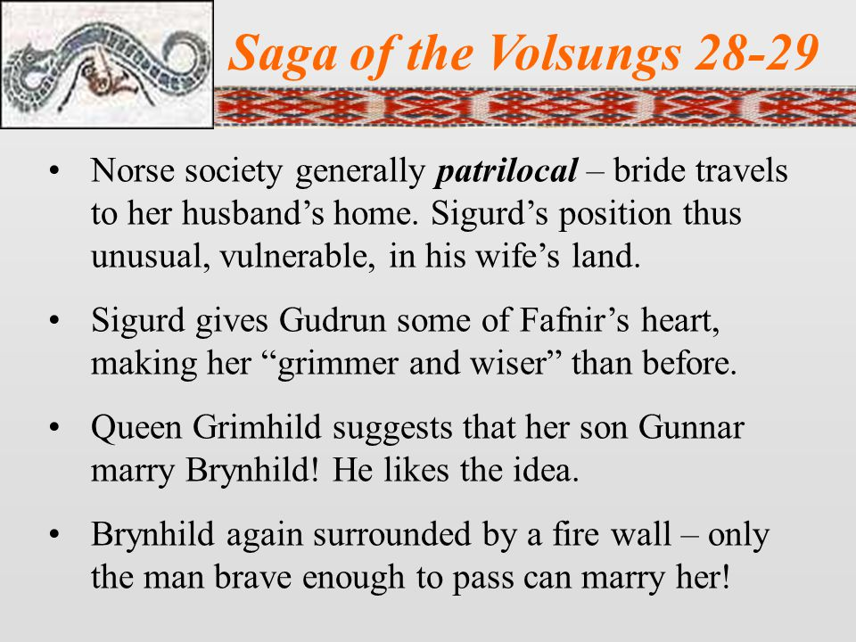 Saga of the Volsungs 28-29