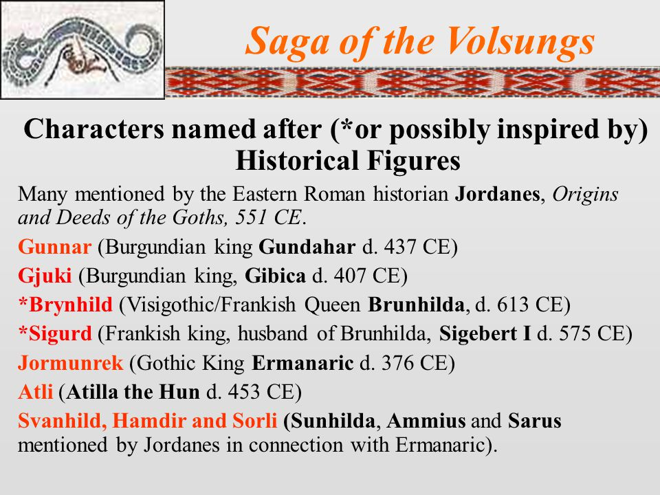 Characters named after (*or possibly inspired by) Historical Figures