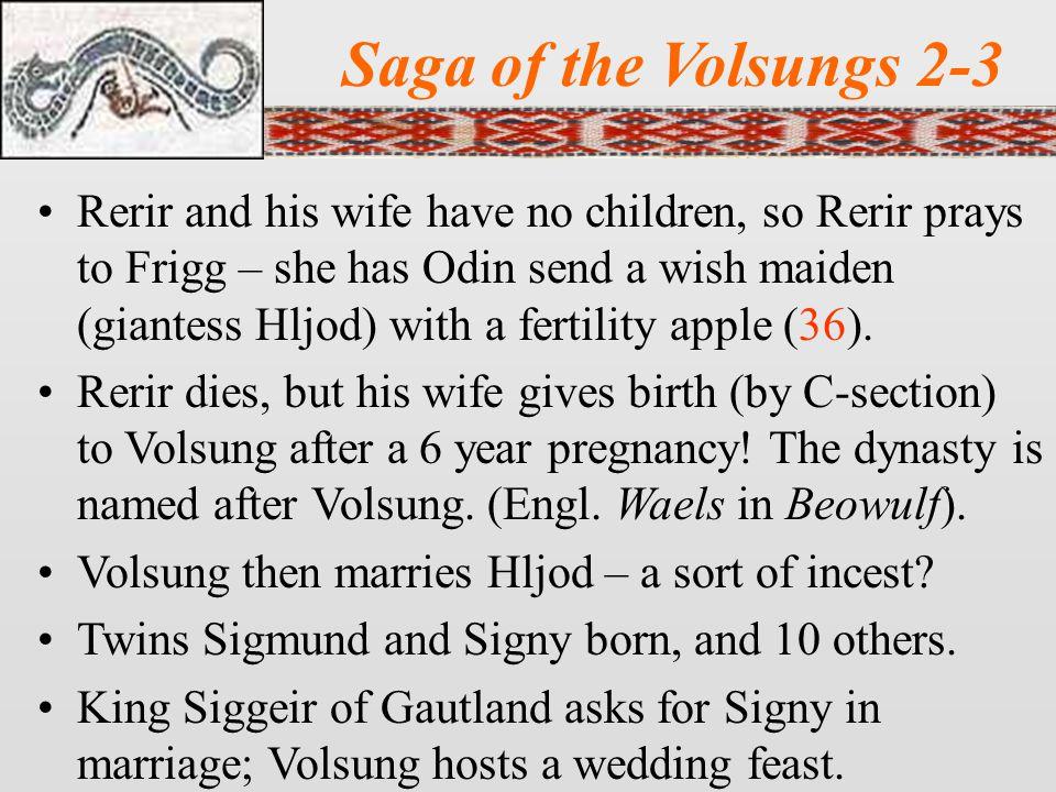 Saga of the Volsungs 2-3