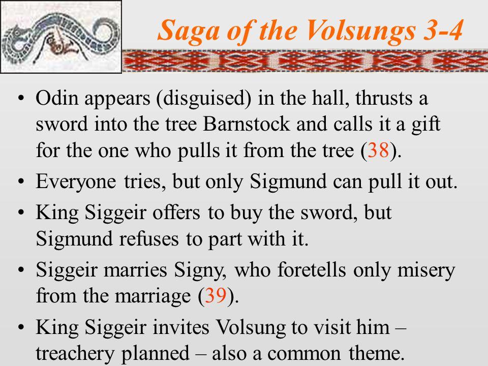 Saga of the Volsungs 3-4