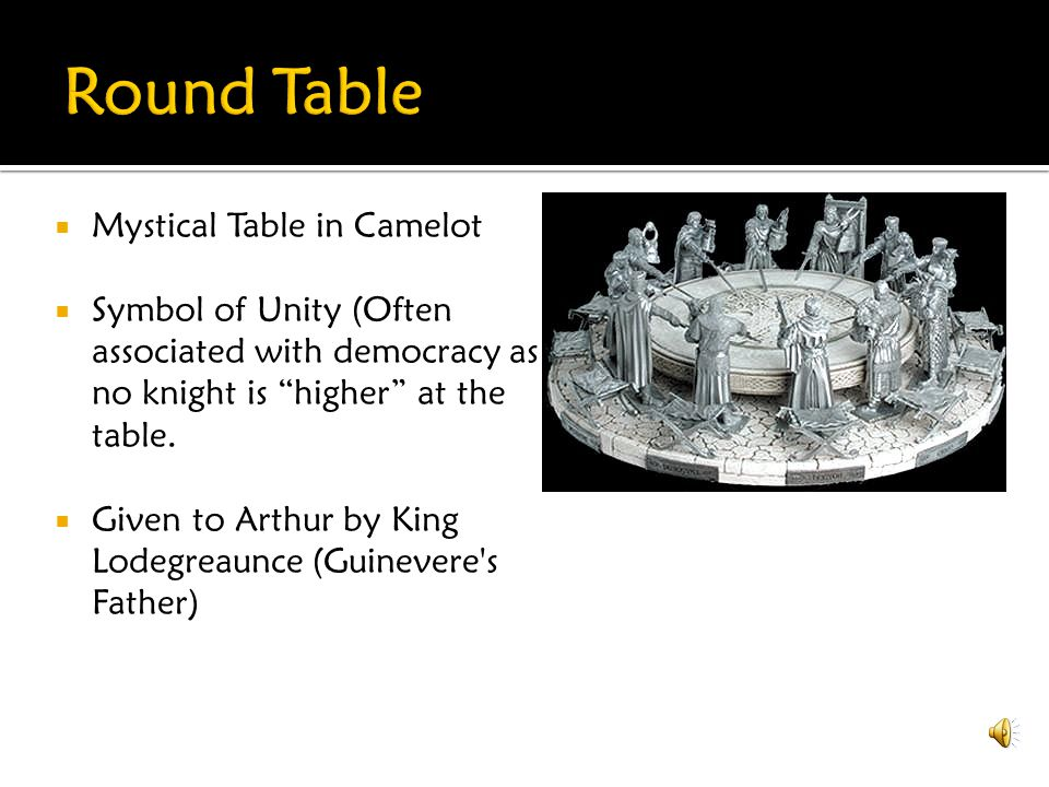 Round Table Mystical Table in Camelot
