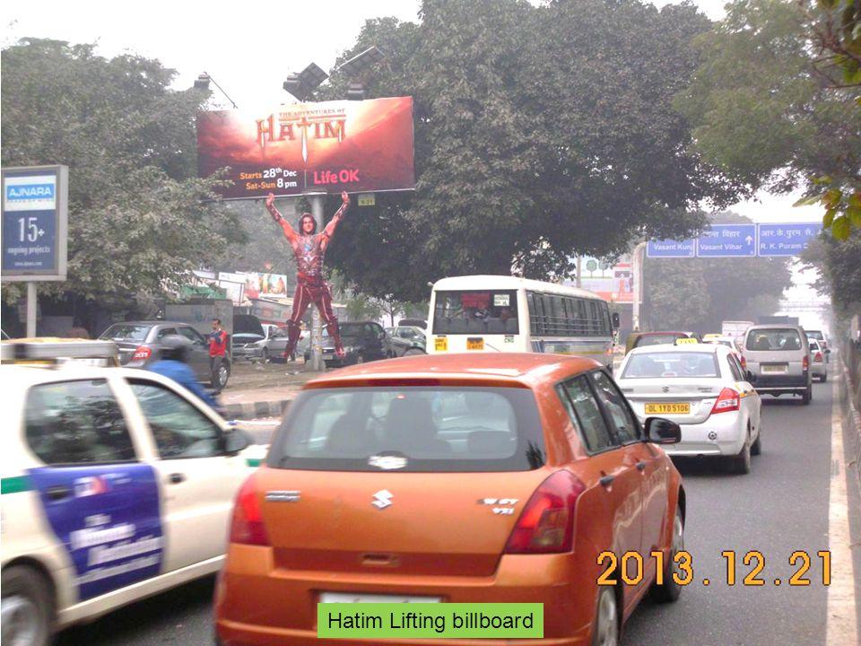 Hatim Lifting billboard