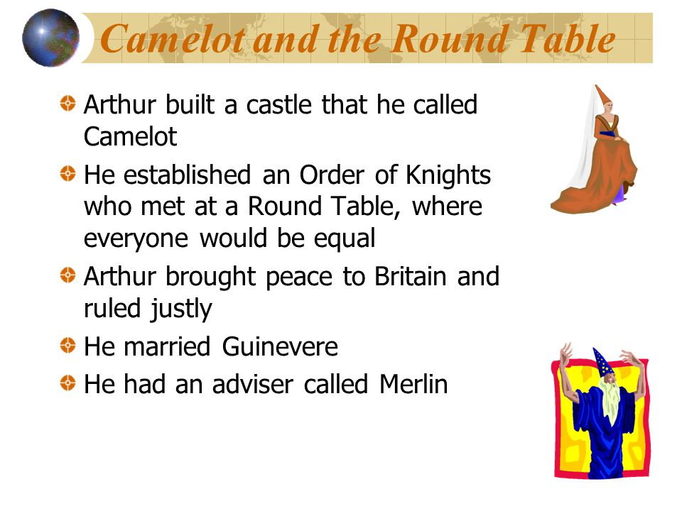Camelot and the Round Table