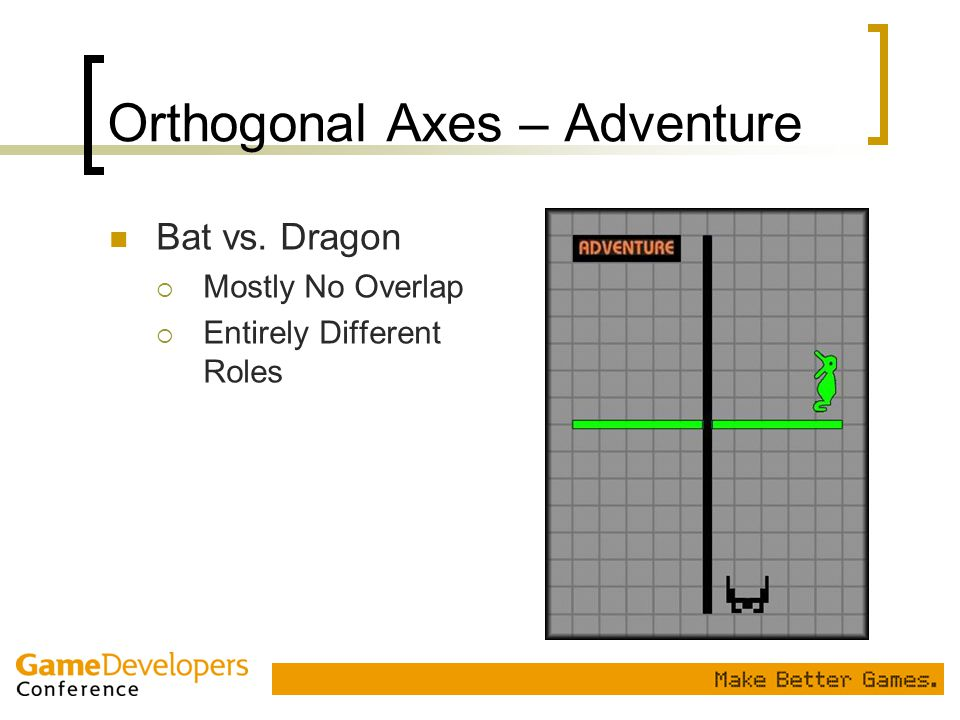 Orthogonal Axes – Adventure