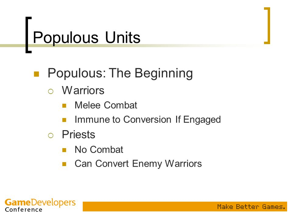 Populous Units Populous: The Beginning Warriors Priests Melee Combat