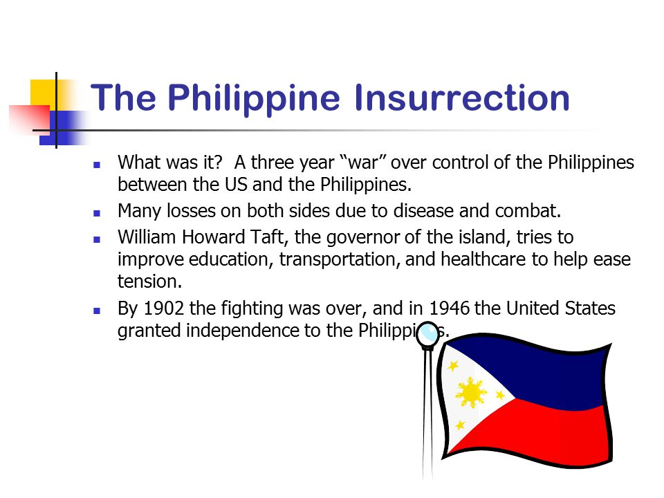 The Philippine Insurrection