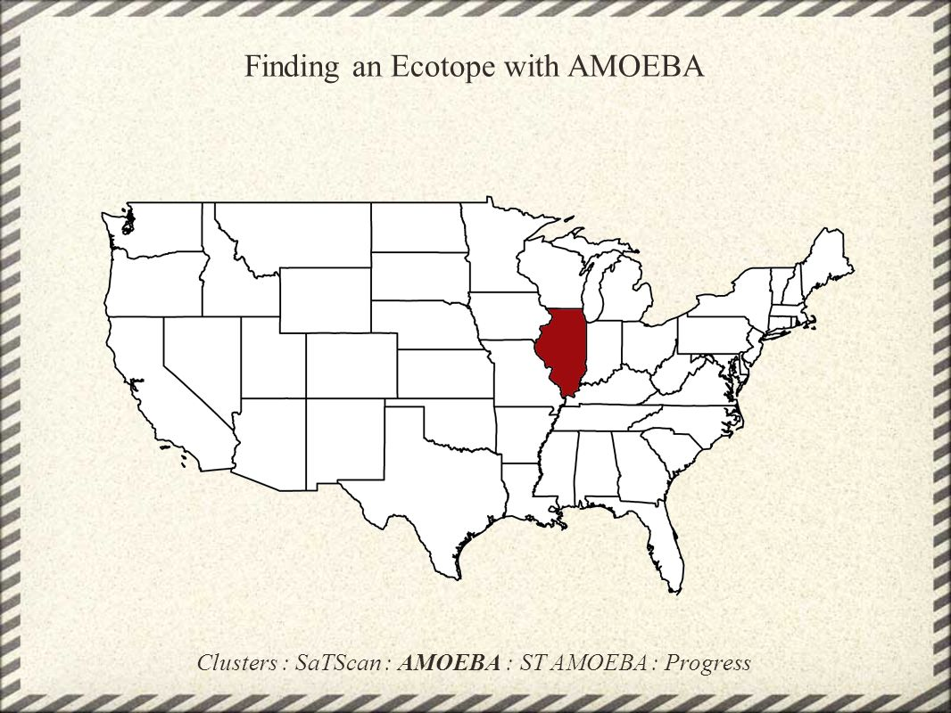 Finding an Ecotope with AMOEBA
