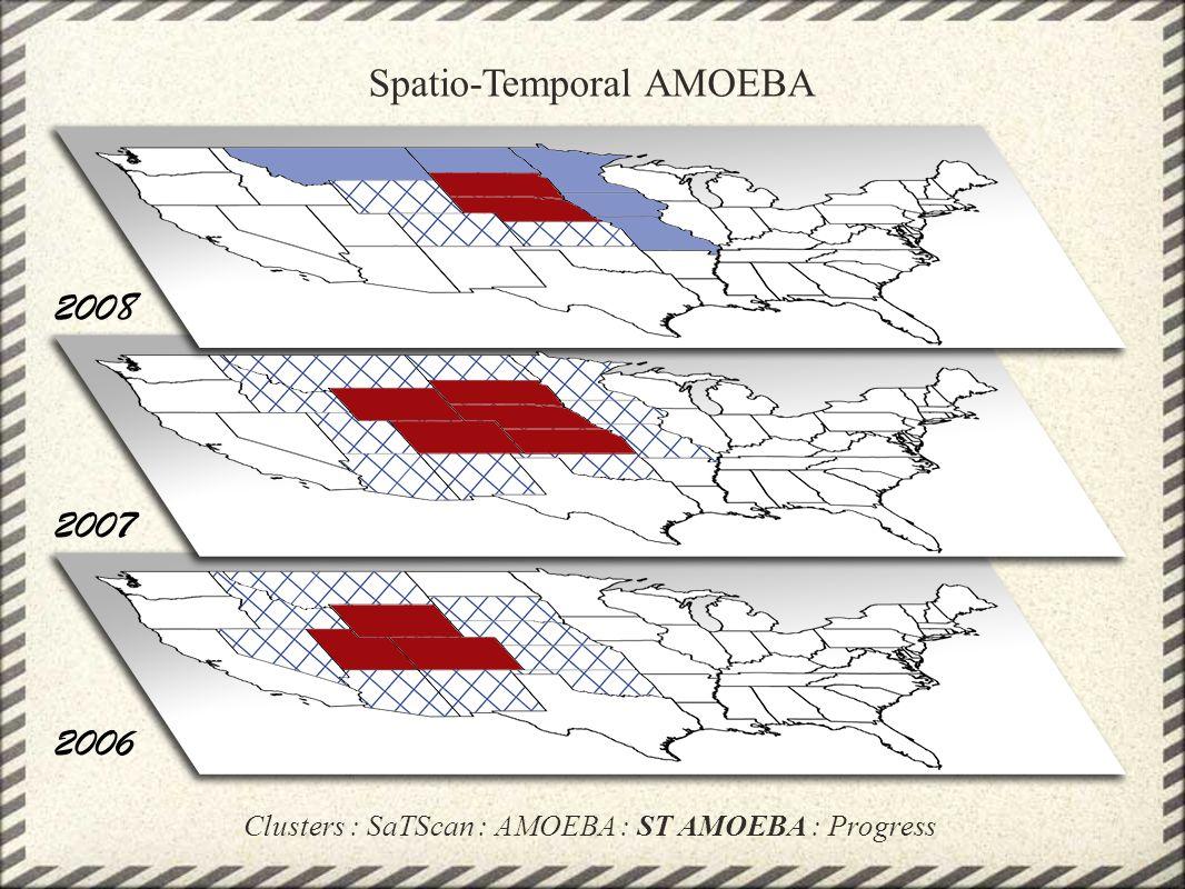 Spatio-Temporal AMOEBA