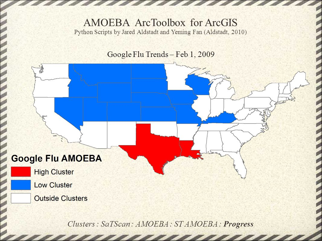 AMOEBA ArcToolbox for ArcGIS