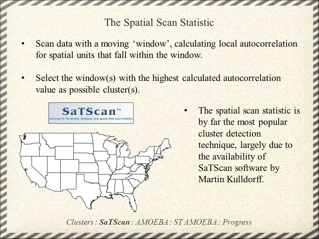 The Spatial Scan Statistic