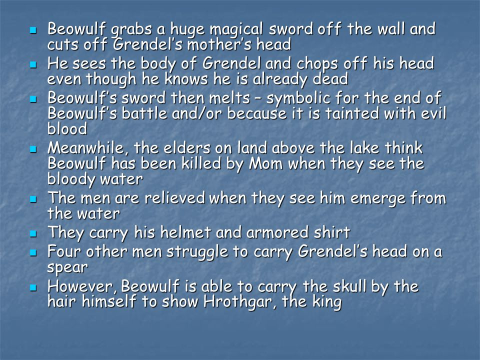 a true character of an ideal man in beowulf Epic: epic, long  underlying all of the written forms is some trace of an oral character,  and by supplying them with models of ideal heroic behaviour.