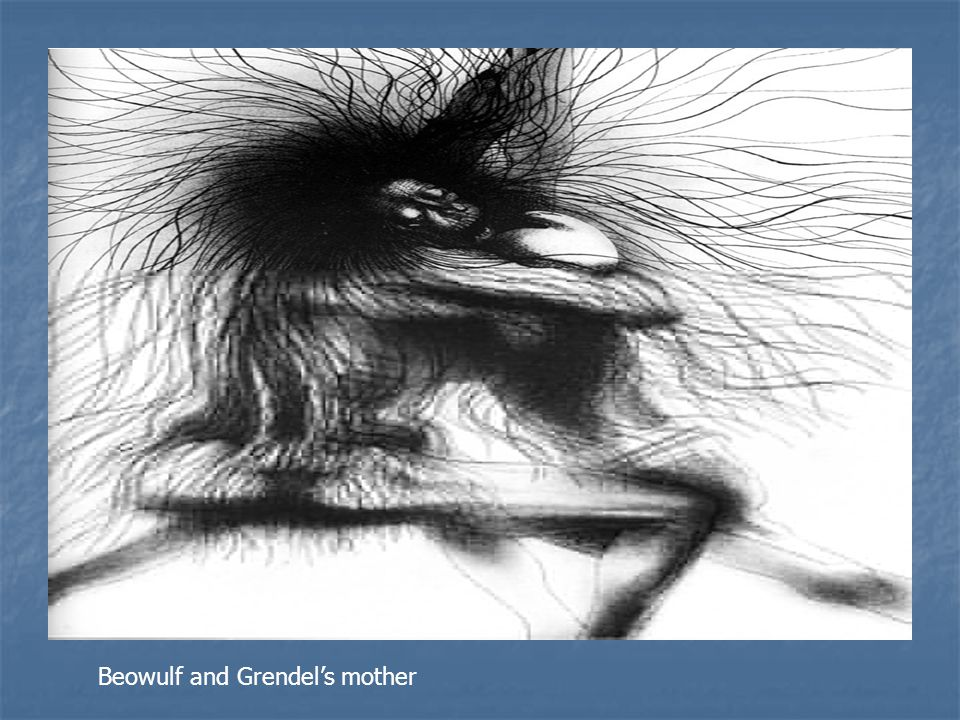Beowulf and Grendel's mother