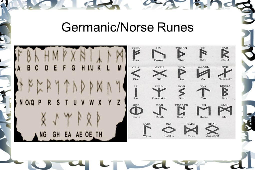 Germanic/Norse Runes
