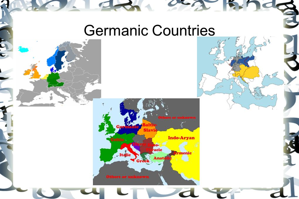 Germanic Countries