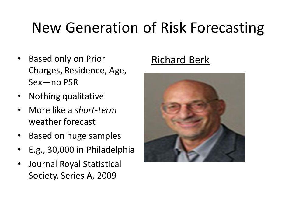New Generation of Risk Forecasting