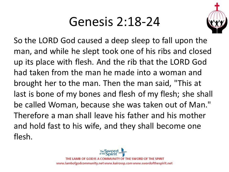 Genesis 2:18-24