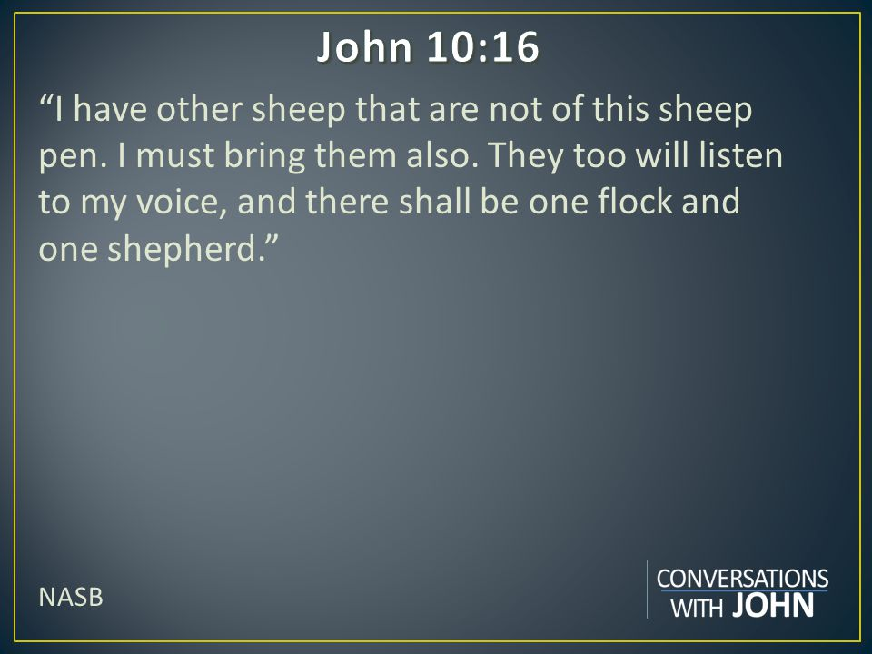 John 10:16