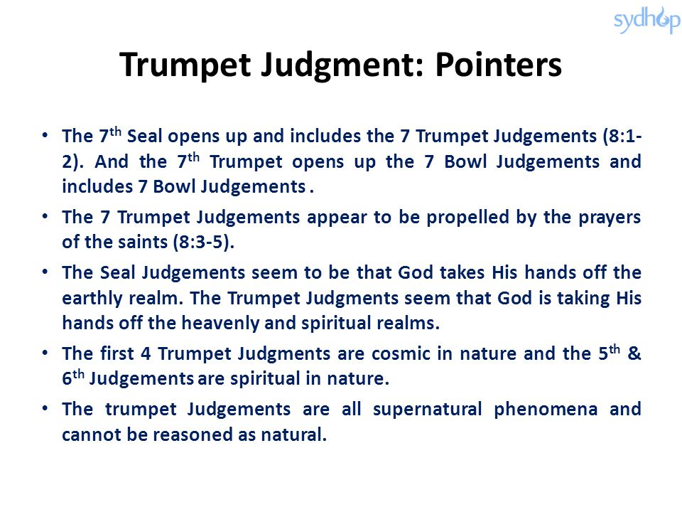 Trumpet Judgment: Pointers