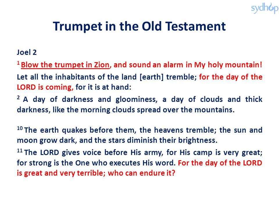 Trumpet in the Old Testament