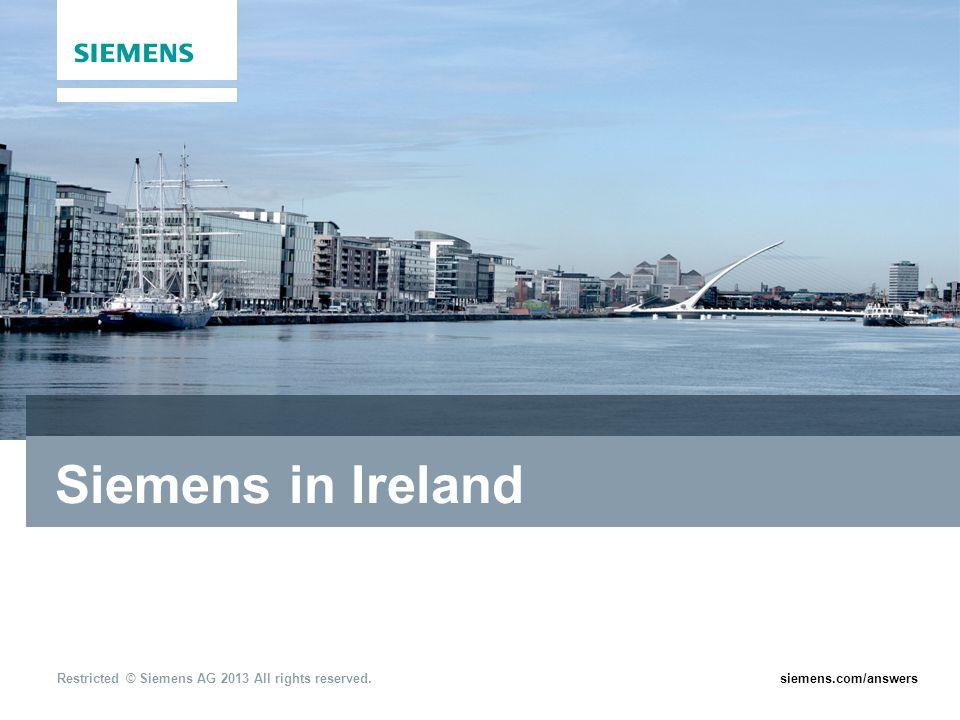 Siemens in Ireland