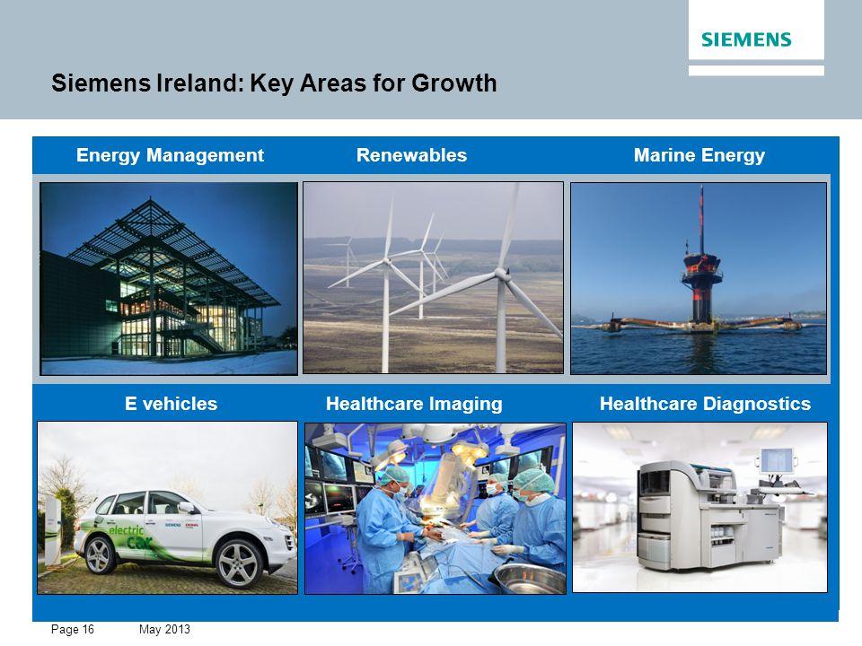 Siemens Ireland: Key Areas for Growth