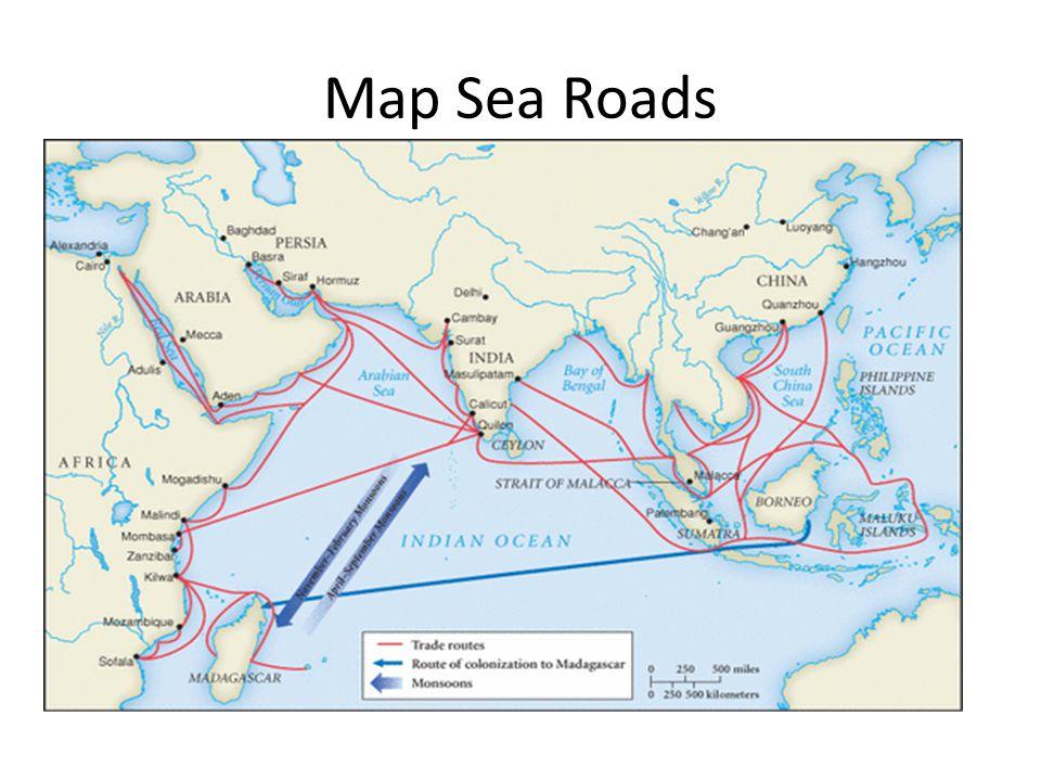 Map Sea Roads