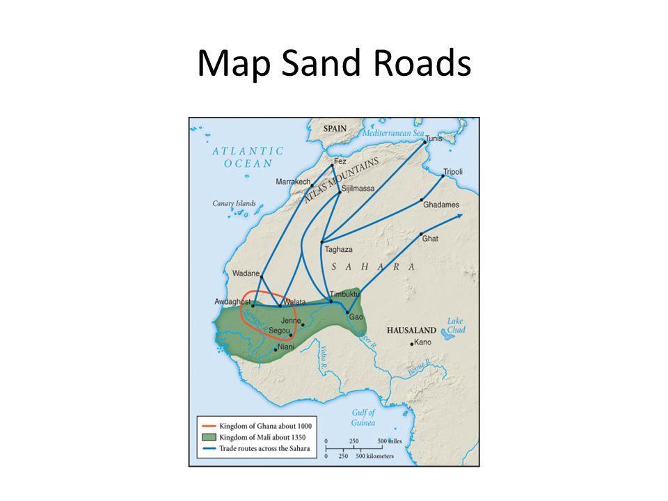 Map Sand Roads
