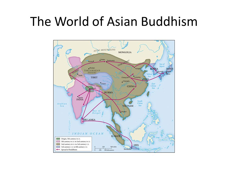 The World of Asian Buddhism
