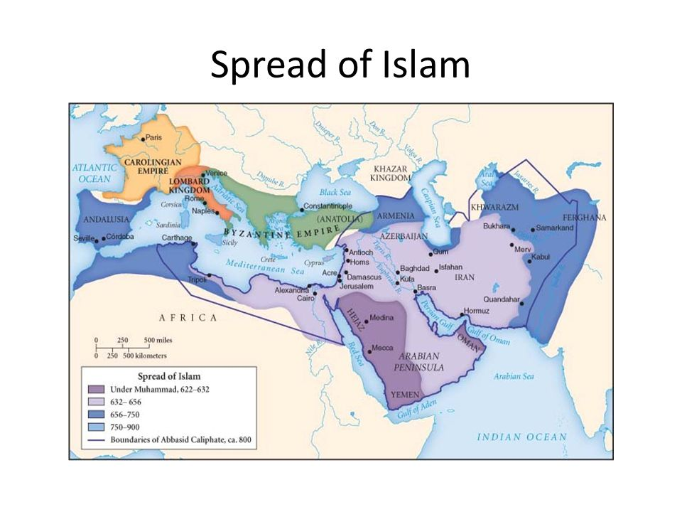Srpead of islam