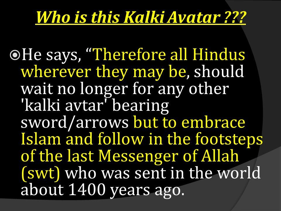 Who is this Kalki Avatar