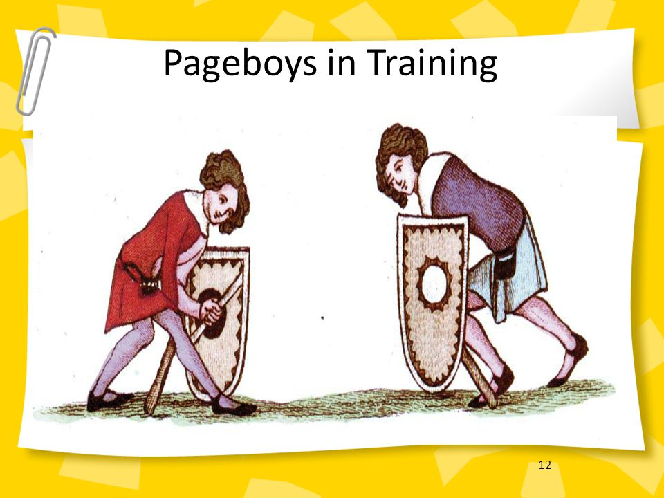 Pageboys in Training 12