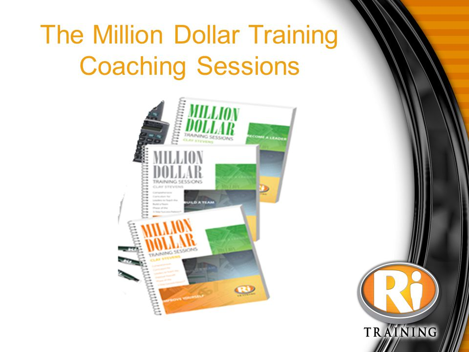 The Million Dollar Training Coaching Sessions