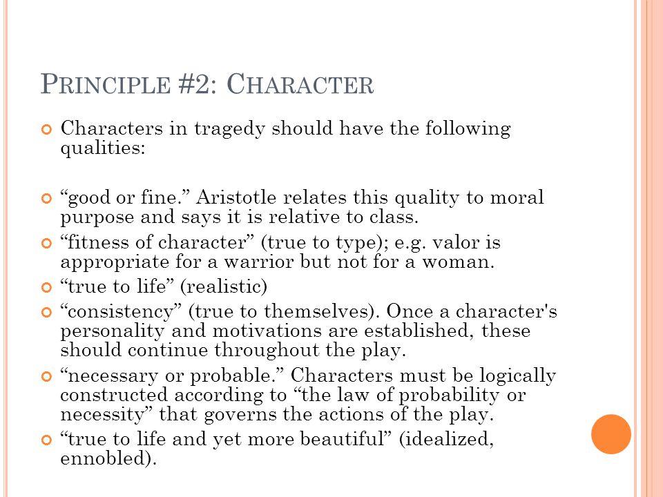 Principle #2: Character