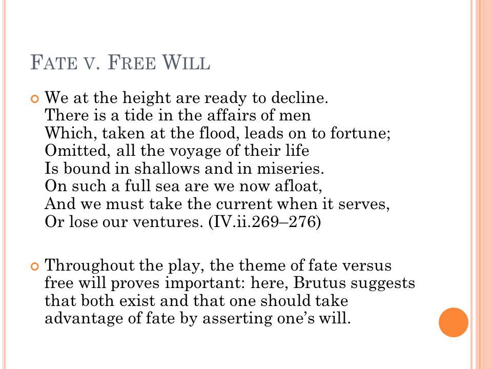 Fate v. Free Will