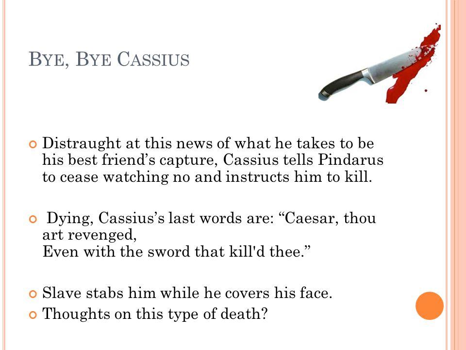 Bye, Bye Cassius