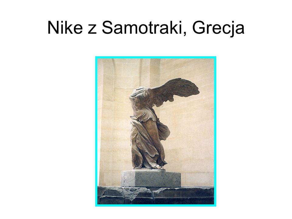 Nike z Samotraki, Grecja