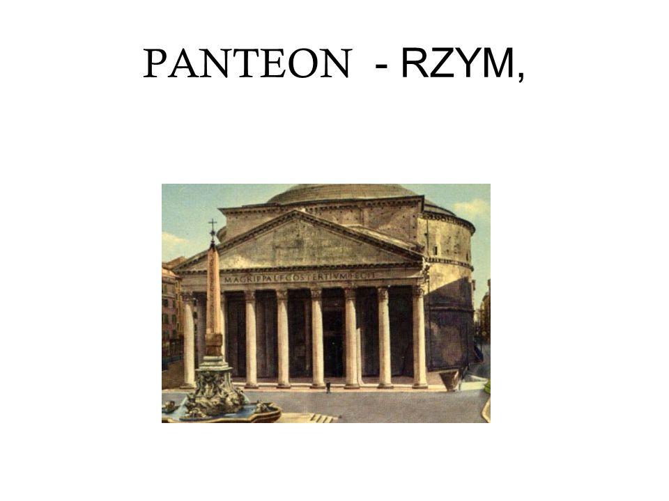 PANTEON - RZYM,