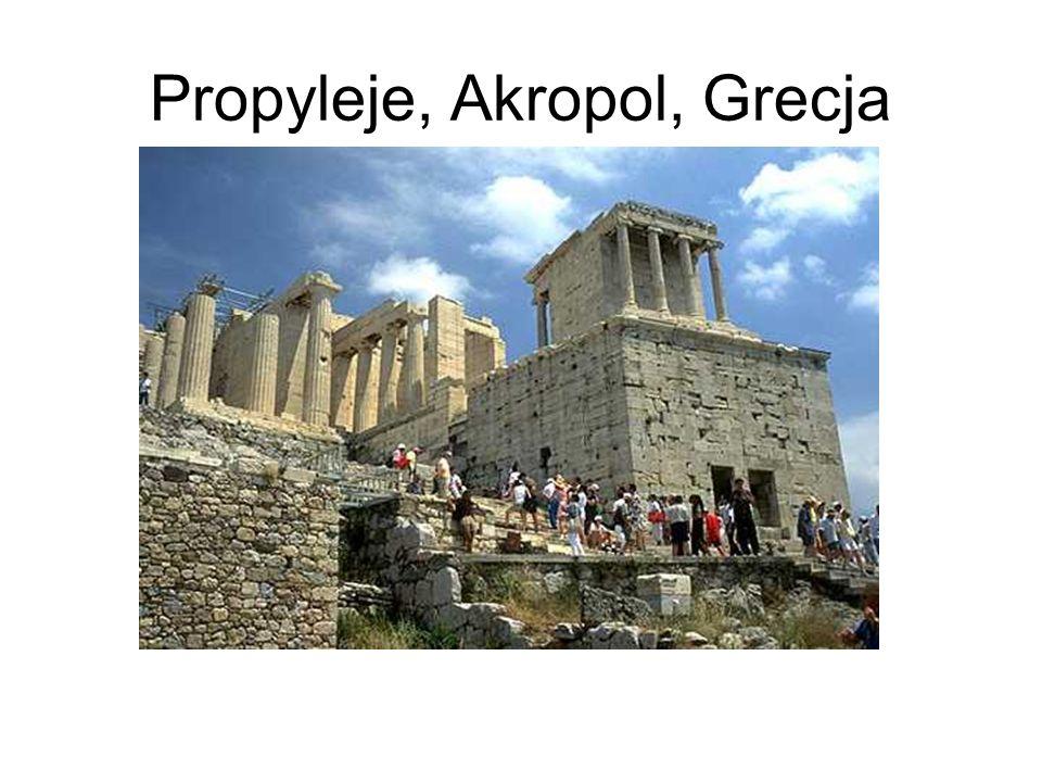 Propyleje, Akropol, Grecja