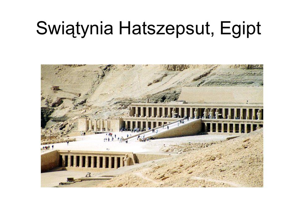 Swiątynia Hatszepsut, Egipt