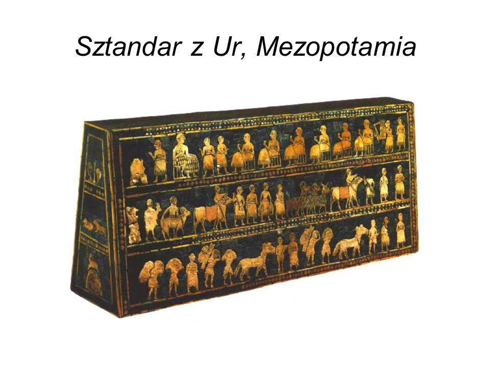Sztandar z Ur, Mezopotamia