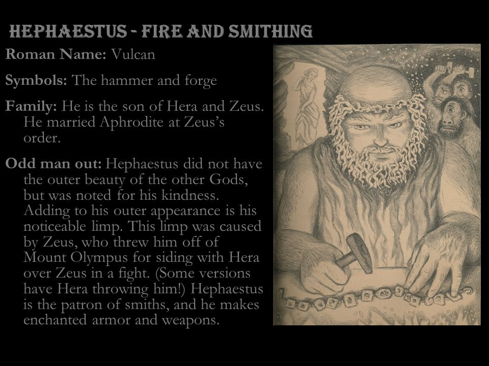Hephaestus - Fire and Smithing