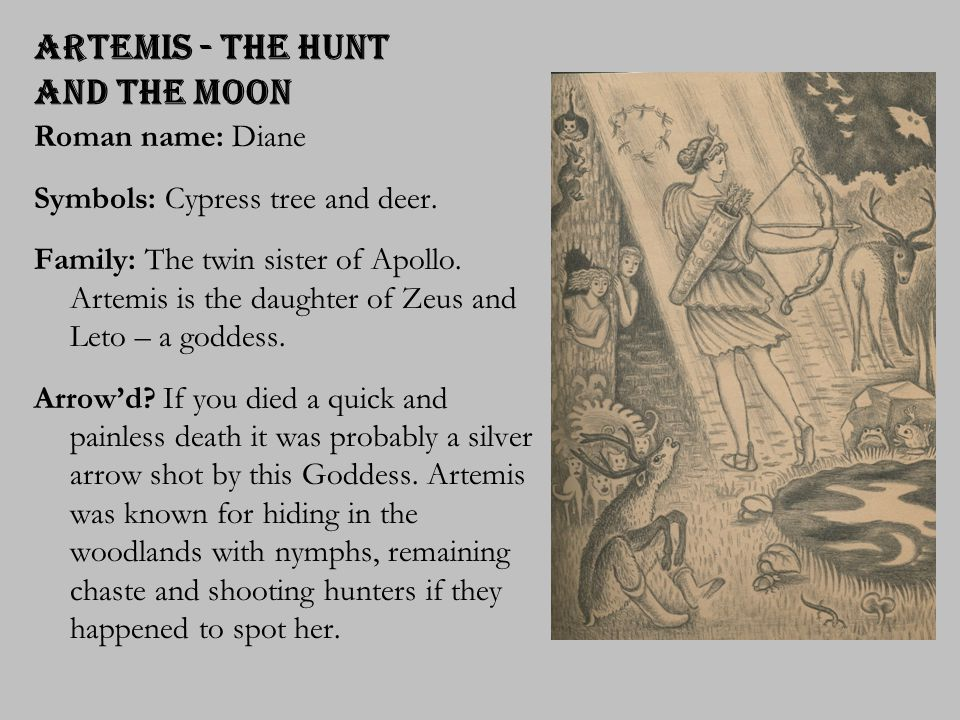 Artemis - the Hunt and the Moon