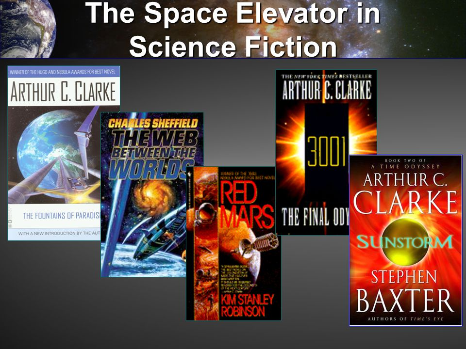 The Space Elevator in Science Fiction