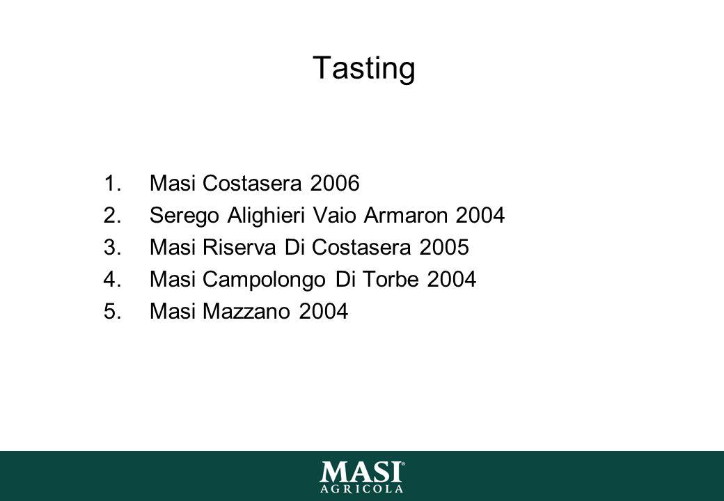 Tasting Masi Costasera 2006 Serego Alighieri Vaio Armaron 2004