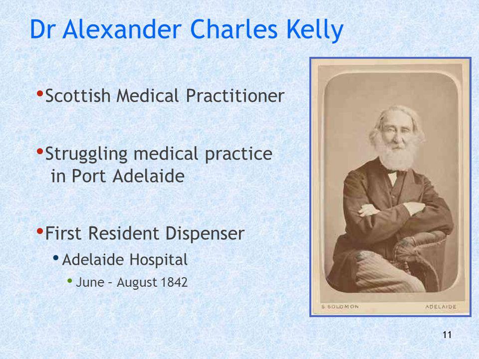 Dr Alexander Charles Kelly