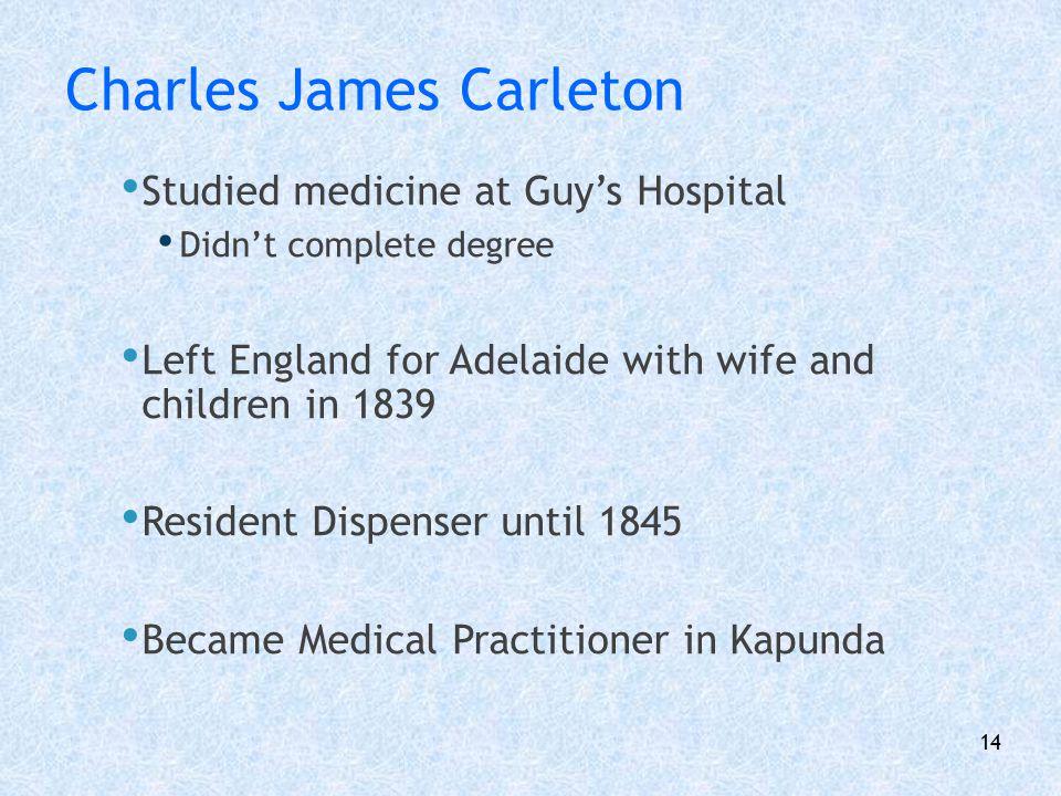 Charles James Carleton