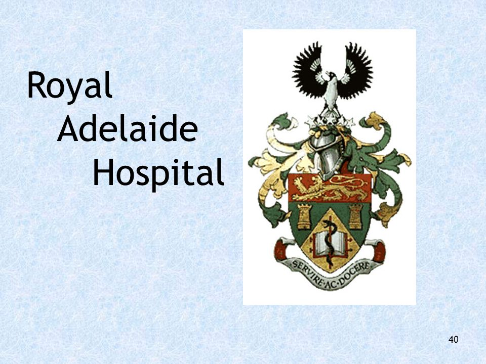 Royal Adelaide Hospital 40