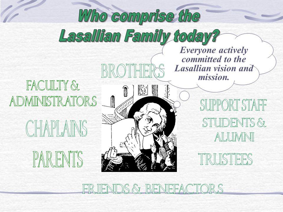 Lasallian Family today
