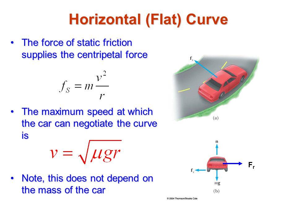 Horizontal (Flat) Curve