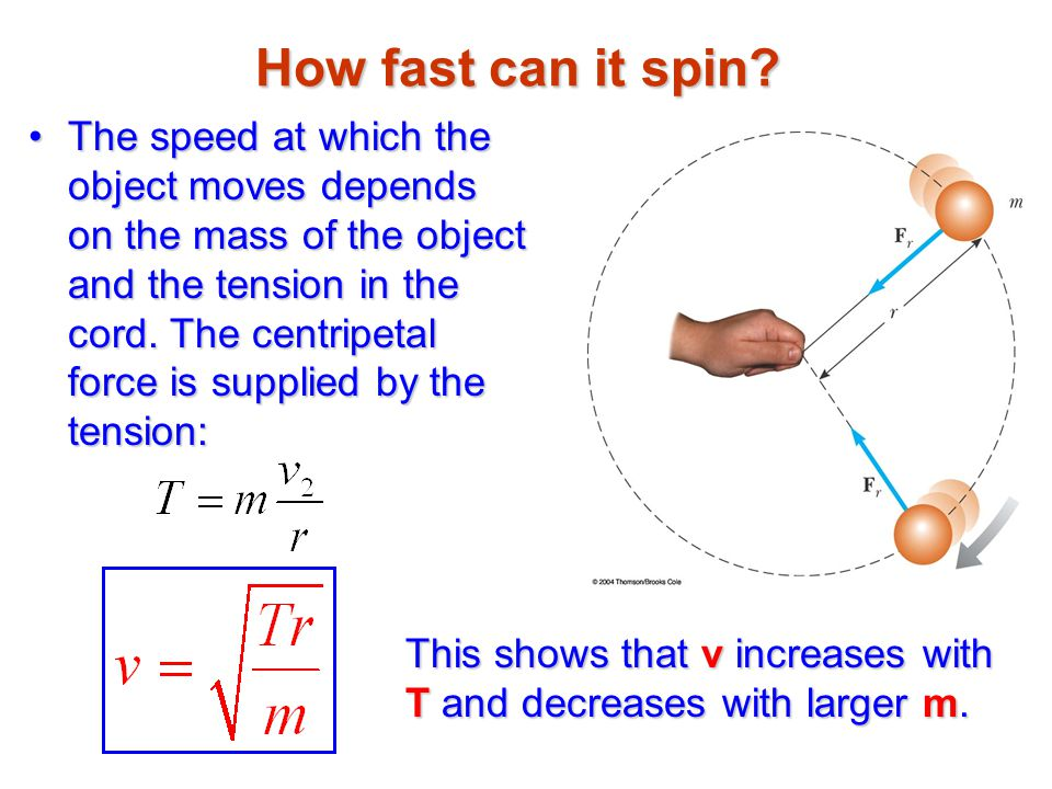 How fast can it spin